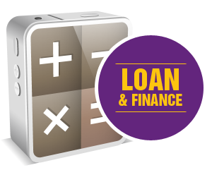 calculator-loan-finance